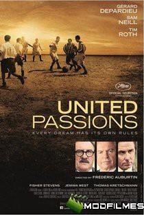 Capa do Filme Paixões Unidas