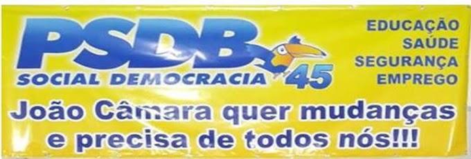Chapa do PSDB esta formada: Empresario Rodrigo Vieira prefeito e Alberto Câmara (popular Beto Cabeção),vice prefeito.