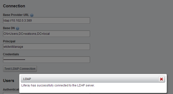 Liferay LDAP Integration full detailed information ~ Liferay
