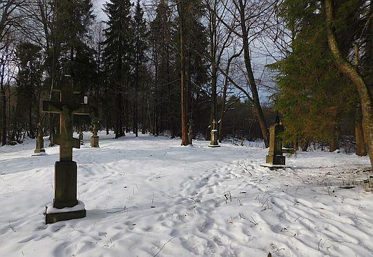 Cmentarz parafialny.