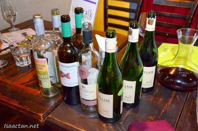 Wine Tasting Evening With Wine Talk @ La Bodega Lounge Bangsar