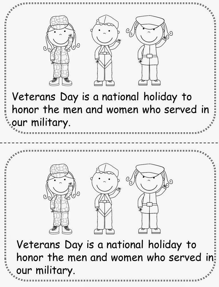 M.A.D. about first grade: Veterans Day