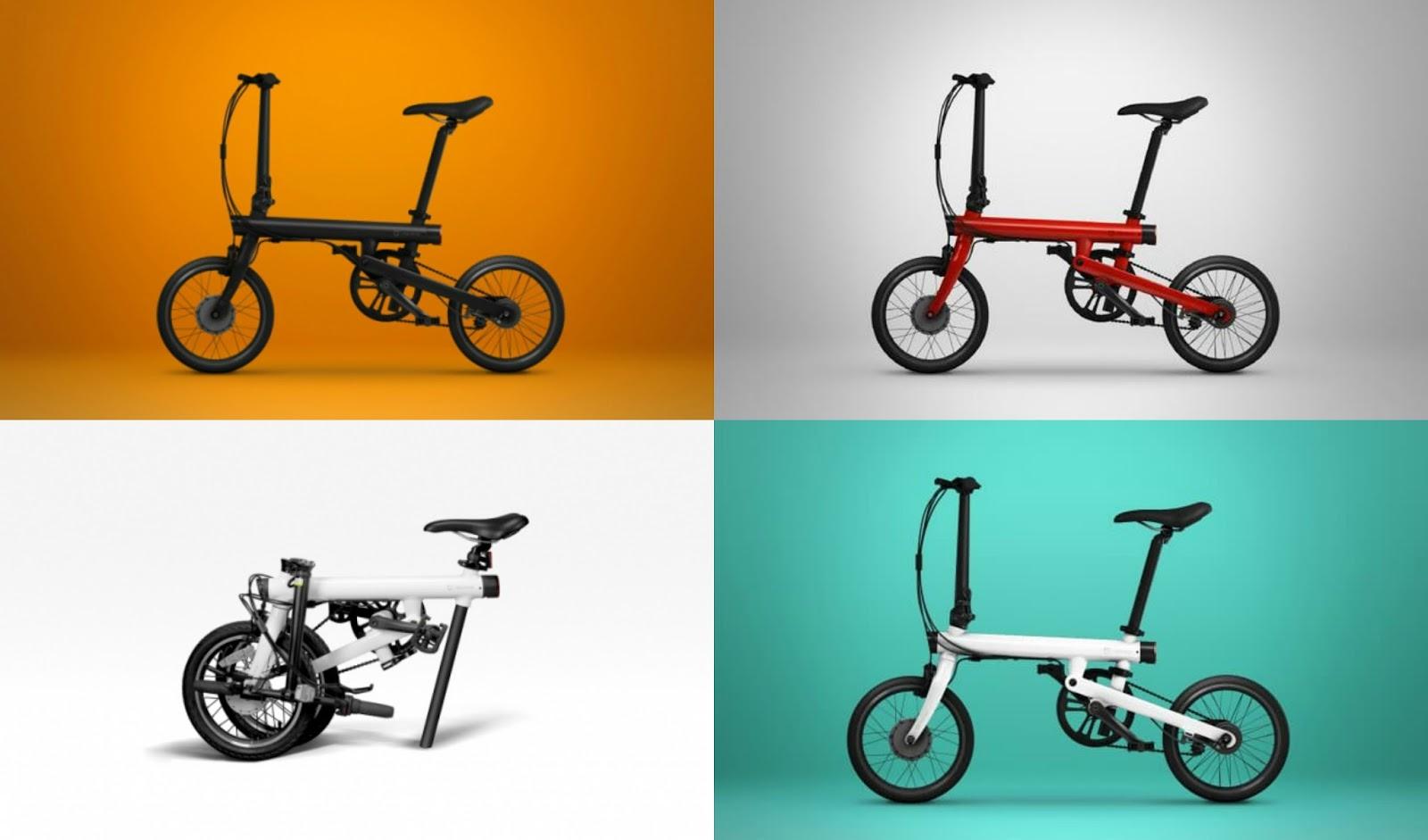 Xiaomi Tech Reviewer Xiaomi Qicycle Electric Folding Bike