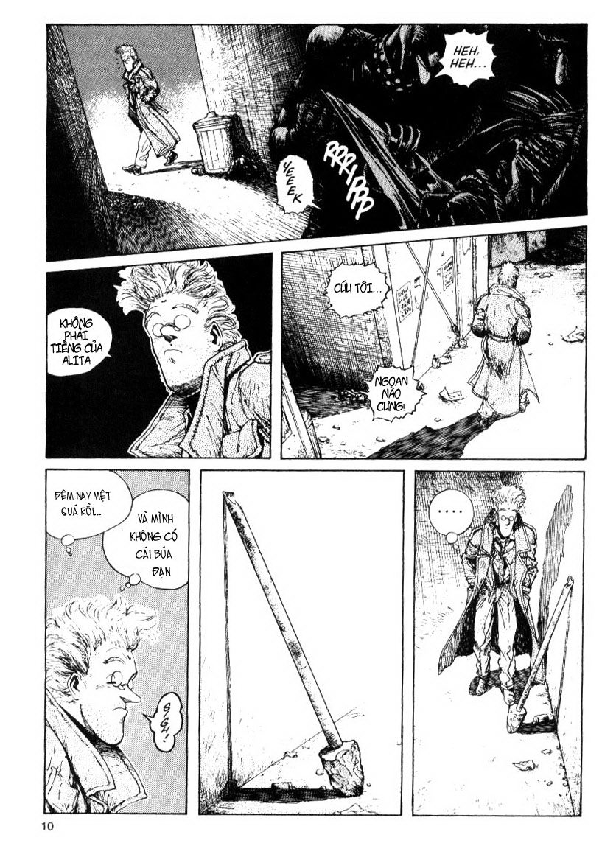 Battle Angel Alita chapter 13 trang 10