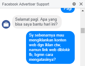 cara mengatasi link website blog diblokir facebook