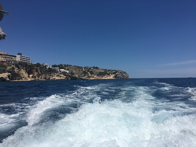 Ibiza from the water
