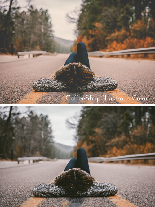 """CoffeeShop """"Lustrous Color"""" Photoshop/PSE Fine Art Action!"""