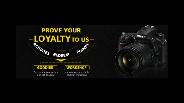 Free Rewards From Nikon