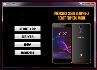 Cara Bypass FRP Evercoss S50D [GENPRO X]