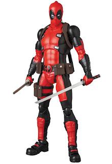 "Figuras: Imágenes de Deadpool de ""Marvel Cómics - Medicom Toys"