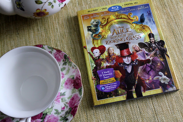 Get tips for the perfect tea party and a delicious scone recipe in celebration of the DVD release of Alice Through the Looking Glass!