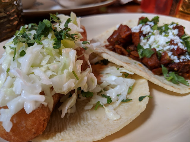 Taco de Pescado &Taco de Papas from Big Star Chicago: Musings of a Museum Fanatic
