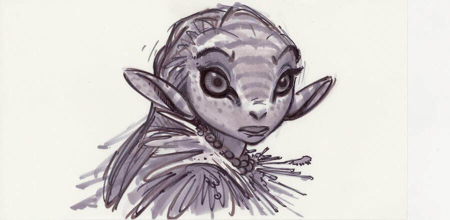 13-Aaron-Blaise-Creature-Sketches-www-designstack-co