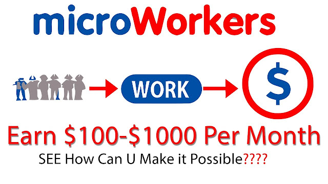 Earn Money Online with Microworkers