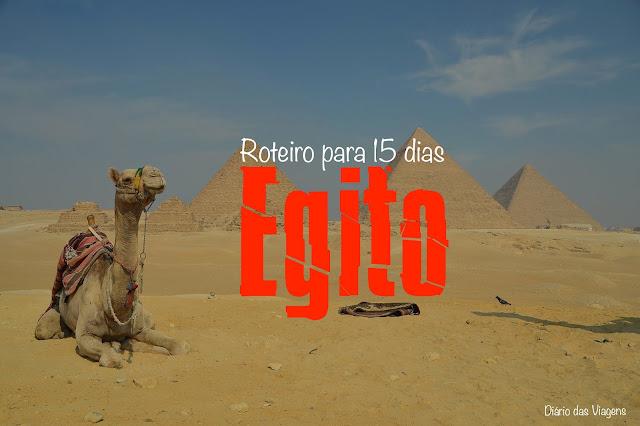 Roteiro completo para conhecer o Egito