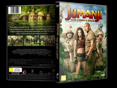 Capa DVD Jumanji: Bem-Vindo à Selva [Custom]