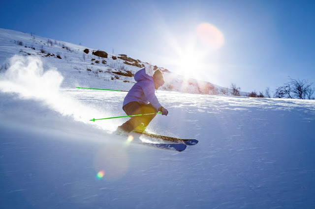 fitness benefits skiing