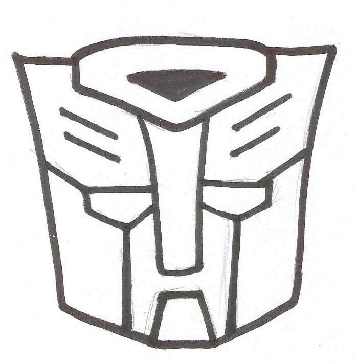 Como Desenhar O Logo Dos Transformers