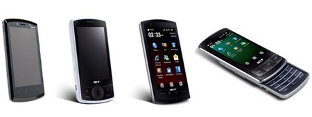 Acer smartphones : beTouch and neoTouch now official