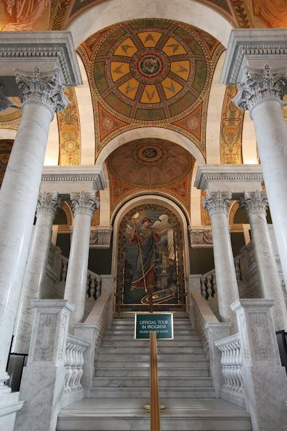 Library Of Congress Thomas Jefferson Building Washington