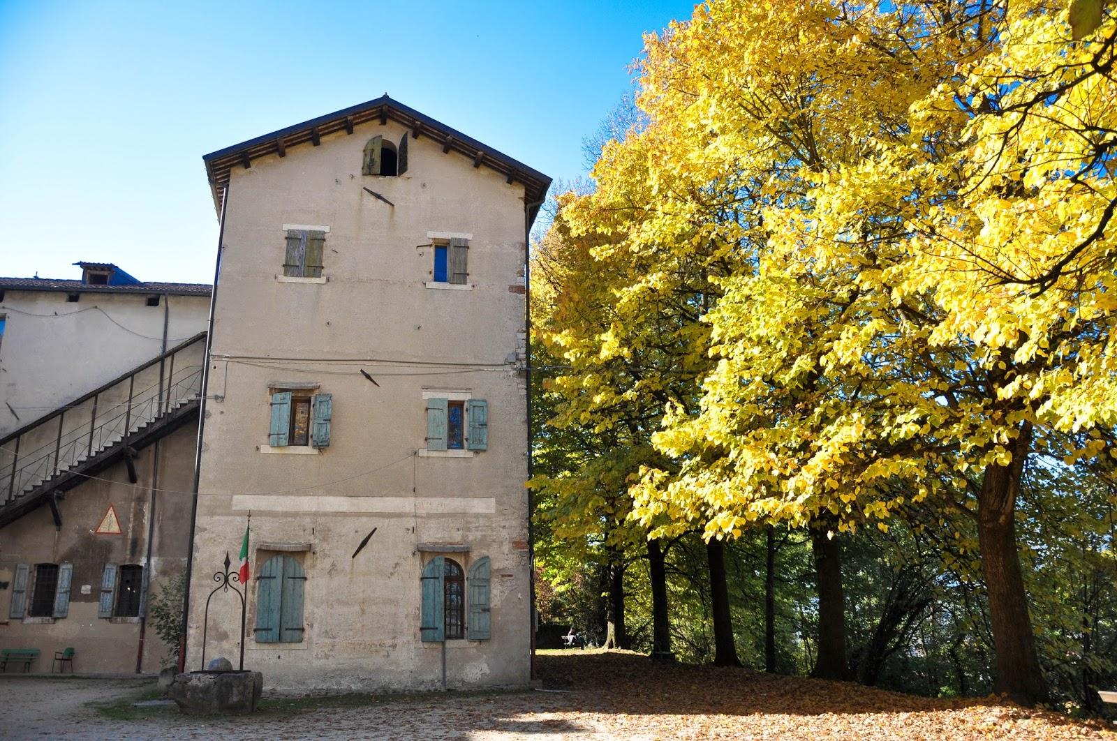 Castello di Alboino, Feltre, Veneto, Italy