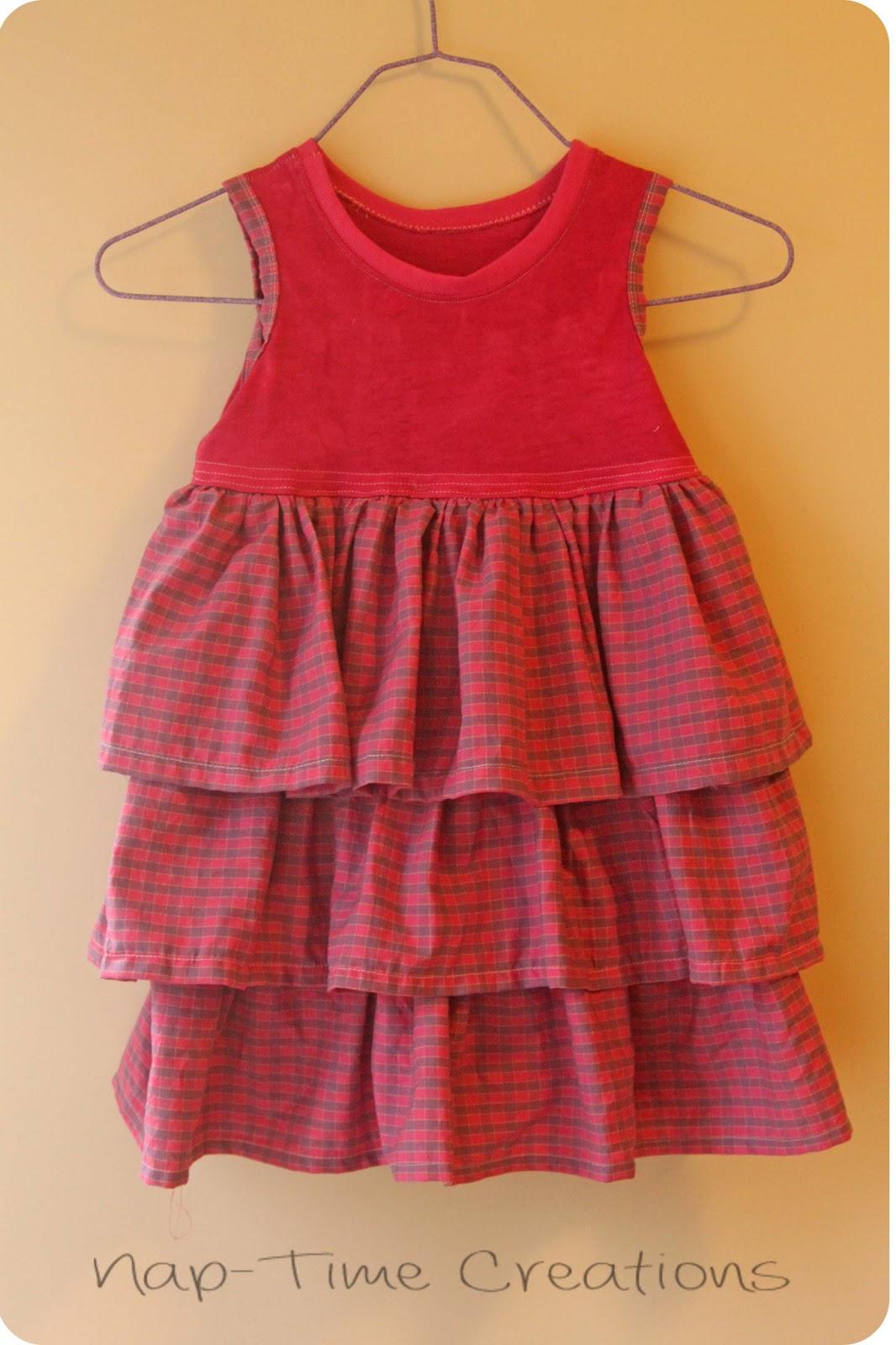 T Shirt Dress Pattern For Kids