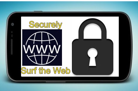 apps to securely browse the internet on android phone.