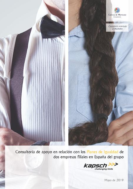 Contrato con Kapsch Group para darles apoyo en relación con los Planes de Igualdad de dos de sus empresas en España.