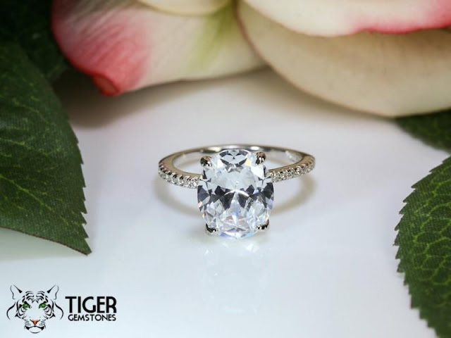 Oval Eternity Wedding Bands