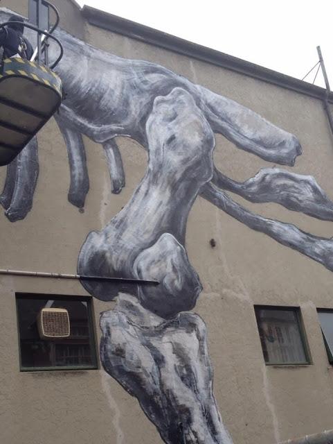 Work In Progress by ROA For Rise Street Art Festival In Christchurch, New Zealand. 6