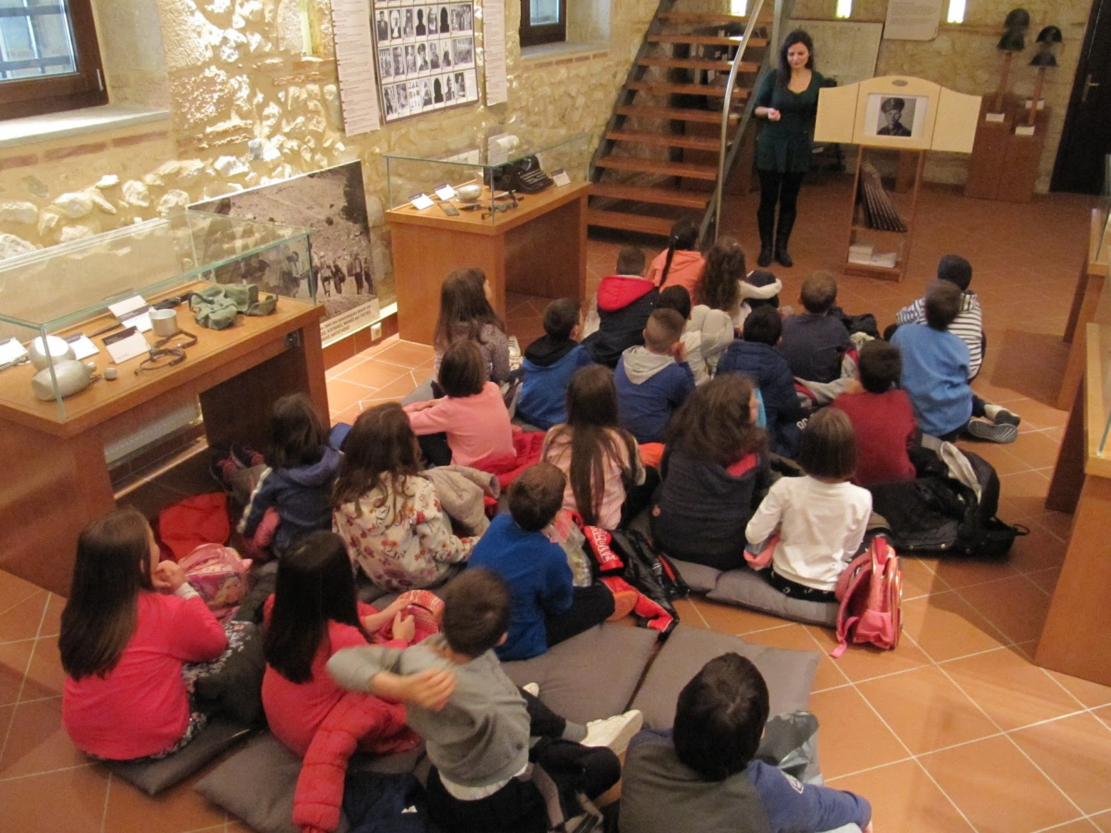 Επίσκεψη του 16ου Δημοτικού Σχολείου Λάρισας στο Μουσείο Εθνικής Αντίστασης