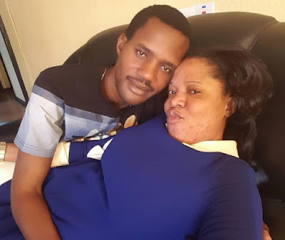 Can Toyin Aimakhu Stop Disgracing Herself With This Seun Egbegbe Of A Guy?