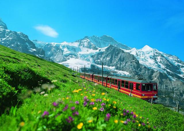 Passagens mais baratas de trem na Suíça