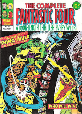 Complete Fantastic Four #34, the Hulk