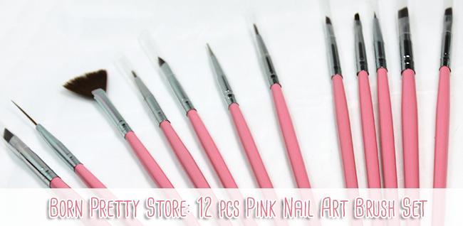 Magically Polished Nail Art Blog Born Pretty Store 12 Pcs Pink