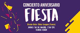 FIESTA Concierto Aniversario Sinfónica Nacional | Teatro Colon