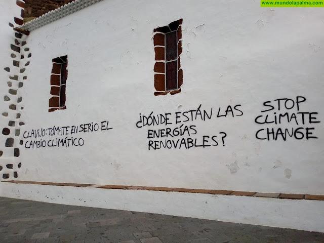 El templo de Las Angustias amanece lleno de pintadas en otro nuevo acto vandálico