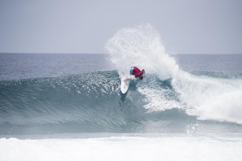 9 Travis Logie Four Seasons Maldives Surfing Champions Trophy foto WSL Sean Scott