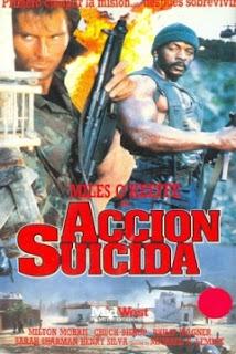 Accion suicida (1989) Accion con Miles O'Keeffe