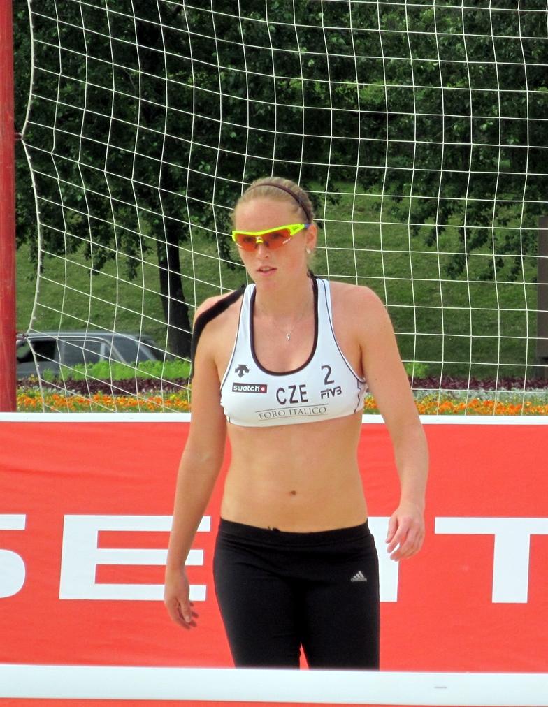 Kolocova Kristyna from Czech Republic's Beach Volleyball Team