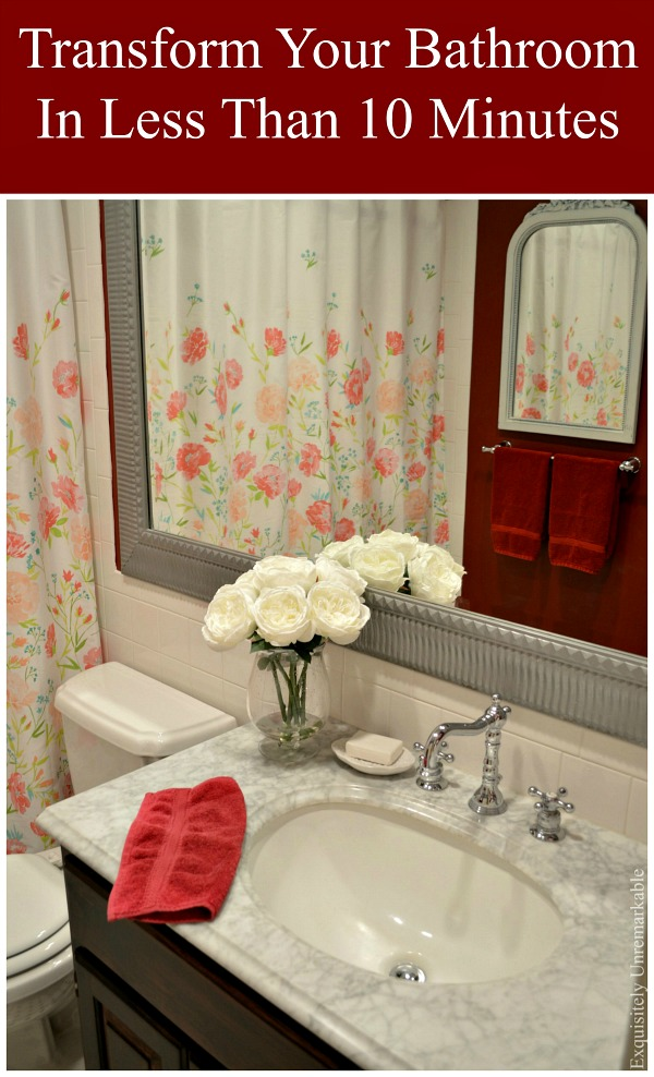 Quick Way To Update Your Bathroom