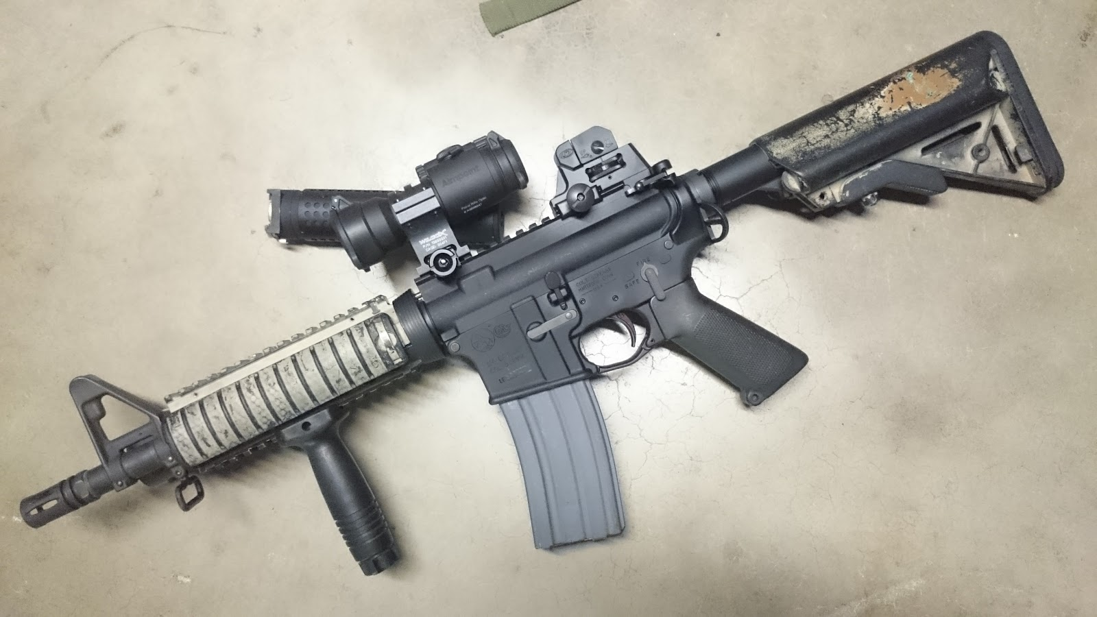 Mister Donut's Firearms Blog: PRI Gas Buster charging handle