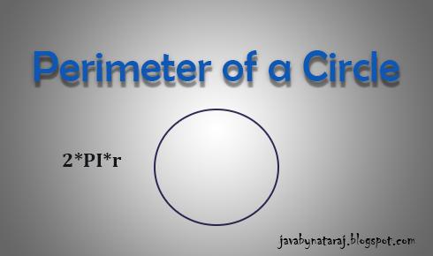 Perimeter Of a Circle