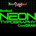 Tutorial Typography - Membuat Neon Effect (Huruf Menyala) di CorelDraw