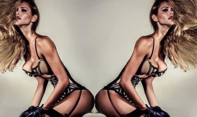 Πιο σέξι και εντυπωσιακή από ποτέ εμφανίζεται η Ρία Αντωνίου στην  φωτογράφηση με εσώρουχα που έκανε για γνωστό περιοδικό. a32080a01bc