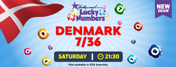 Hollywoodbets Sports Blog: Denmark 7/36 - Lucky Numbers