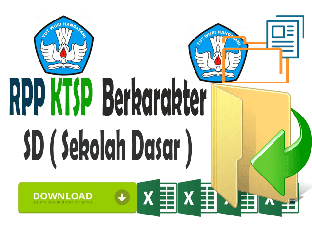 RPP SD KTSP Kelas 1 Format Words