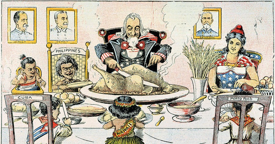 Image result for cartoons imperialism 1898