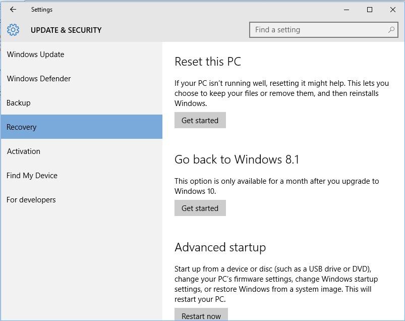 Cara Mengembalikan Windows 10 Ke Windows 8 Dan Windows 7 Downgrade Harianja Uniks