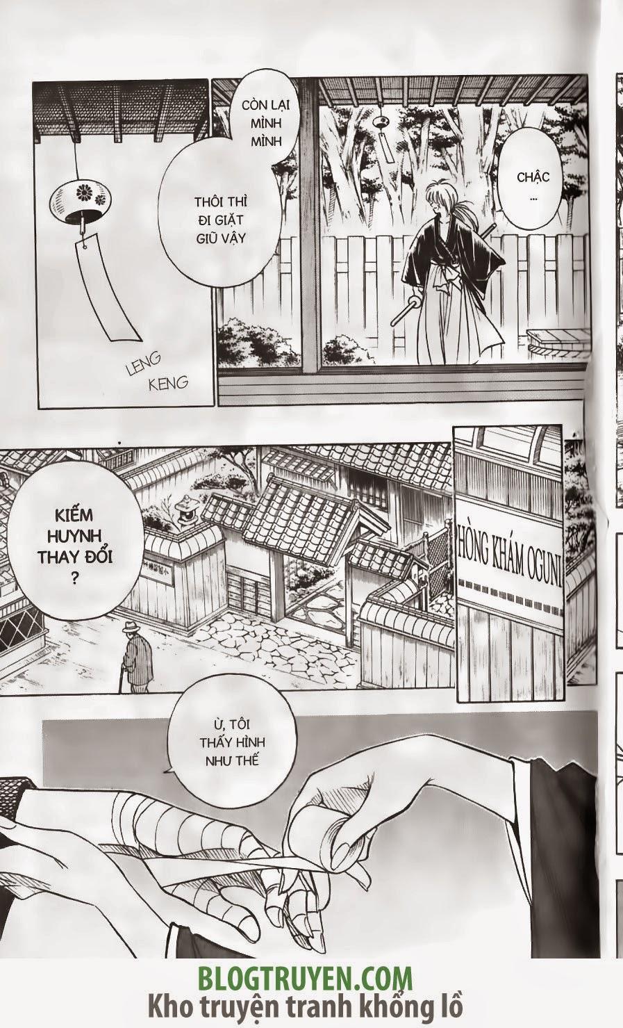 Rurouni Kenshin chap 152 trang 10